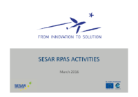 05 – EUROCAE – UAS – Workshop – 160304 – SESAR