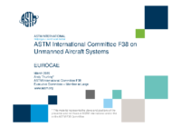 06 – EUROCAE – UAS – Workshop – 160304 – ASTM