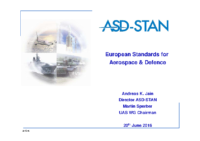 European Standards for Aerospace & Defence