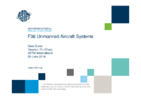 ASTM F38 Unmanned Aircraft Systems USA