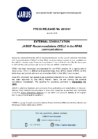 1_PRESS_RELEASE_No_2015_07_29072015_JARUS_CPDLC_in_the_RPAS_Communications