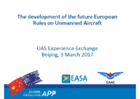 1.a – EASA – Development of future EU rules on UA (EN)