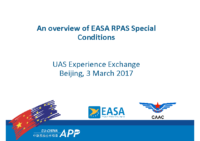 1.c – EASA – An overview of EASA RPAS Special Conditions (EN)