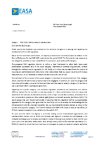 EASA Reply to UVS International – 170324