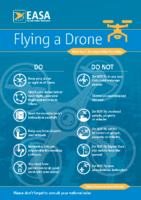 EASA Drone Safety Leaflet