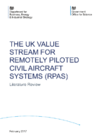 Department for Business, Energy & Industrial Strategy – UK Value Stream For Civil RPAS – 170216