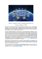 170513 – RPAS 2017: Focus on EU Drone Regulation & U-Space