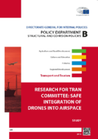 European Parliament – TRAN Committee – Safe Integration of Drones – 160915