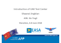 10.0 – Day 1 – 16.10-16.40 – ASN. Xing Yingli – Introduction of UAV Test Center, Shaanxi Jingbian (EN)