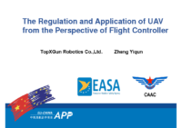12.0 – Day 2 – 09.30-10.00 – TopXGun Robotics – Zhang Yiqun – The Regulation and Application of UAV from the Perspective of Flight Controller (EN)