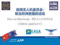 13.2 – Day 2 – 10.00-10.30 – UVS International – Peter van Blyenburgh – Civil Drone Councils: Federating National Activities in Europe (中文)