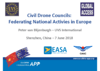 13.1 – Day 2 – 10.00-10.30 – UVS International – Peter van Blyenburgh – Civil Drone Councils: Federating National Activities in Europe (EN)