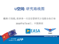 14.2 – Day 2 – 11.00-11.30 – SESAR-JU – David – Batchelor – U-space: The Research Roadmap (中文)