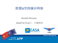 15.2 – Day 2 – 11.30-12.00 – Eurocontrol – Munish Khurana – EU Network of U-space Demonstrators (中文)