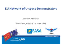 15.1 – Day 2 – 11.30-12.00 – Eurocontrol – Munish Khurana – EU Network of U-space Demonstrators (EN)