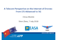 17.0 – Day 2 – 13.30-14.00 – China Mobile – Li Yan – A Telecom Perspective on the Internet of Drones: From LTE-Advanced to 5G (EN)