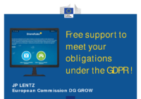 EC DG Move – DroneRules.EU: Support to GDPR – 180709