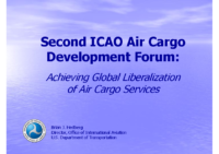 S1_2 Liberalization of Air Cargo Services_Brian HEDBERG_DOT