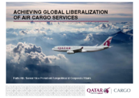 S1_3 ACHIEVING GLOBAL LIBERALIZATION OF AIR CARGO SERVICES_Fathi ATTI_Qatar Airways