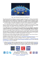 190906 – High Level European Commission Anti-Drone Conference