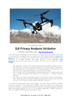 200723 – Grimm, USA – DJI Privacy Analysis Validation